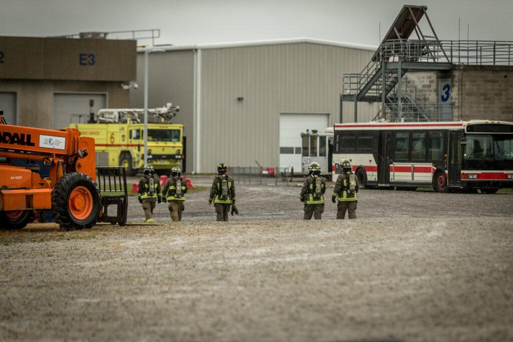 Festi Firefighters At Work