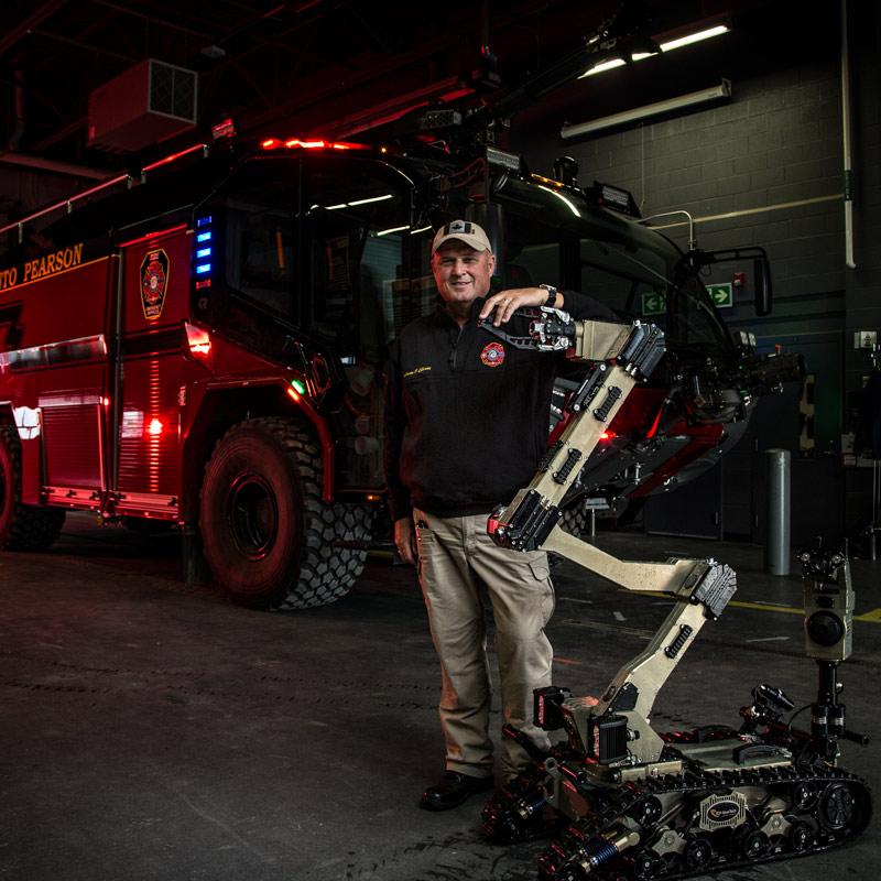 Firefigher Hazardous Materials Tools